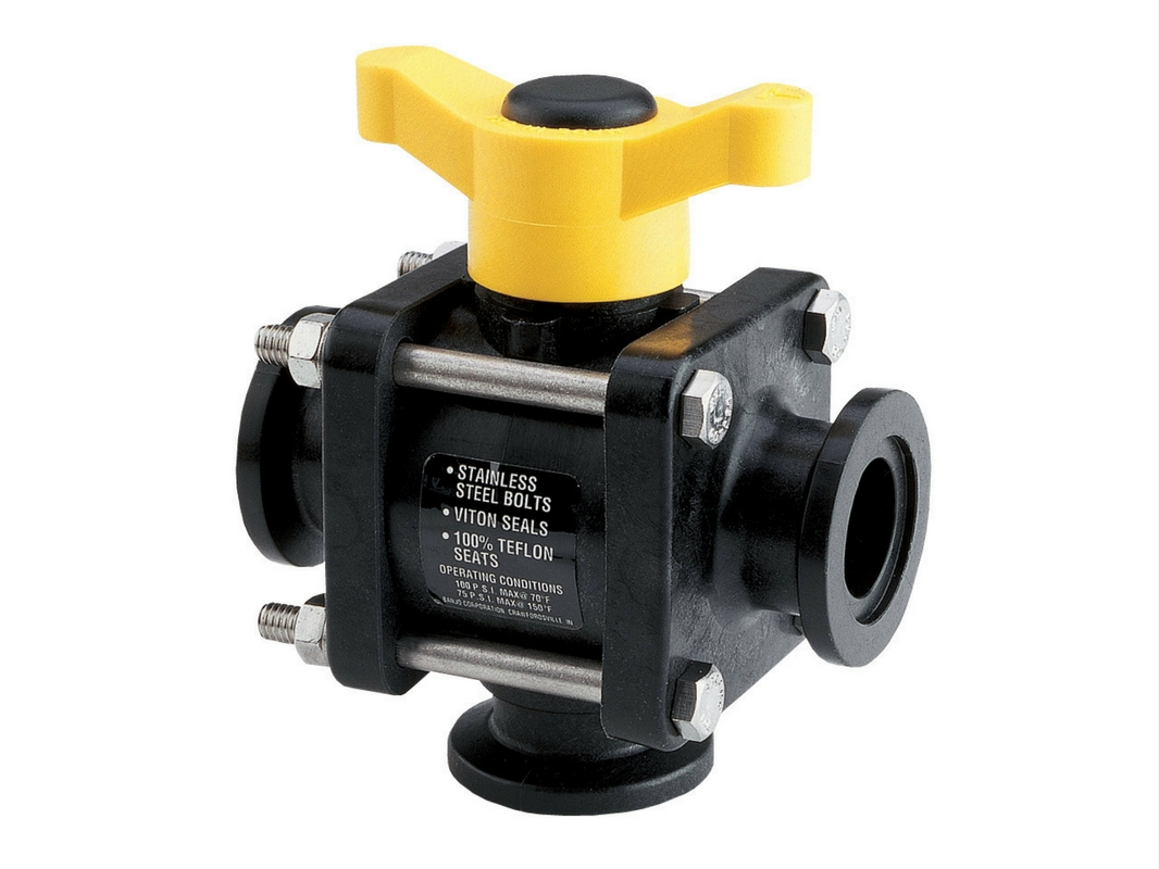 Banjo Manifold 3-Way Ball Valves
