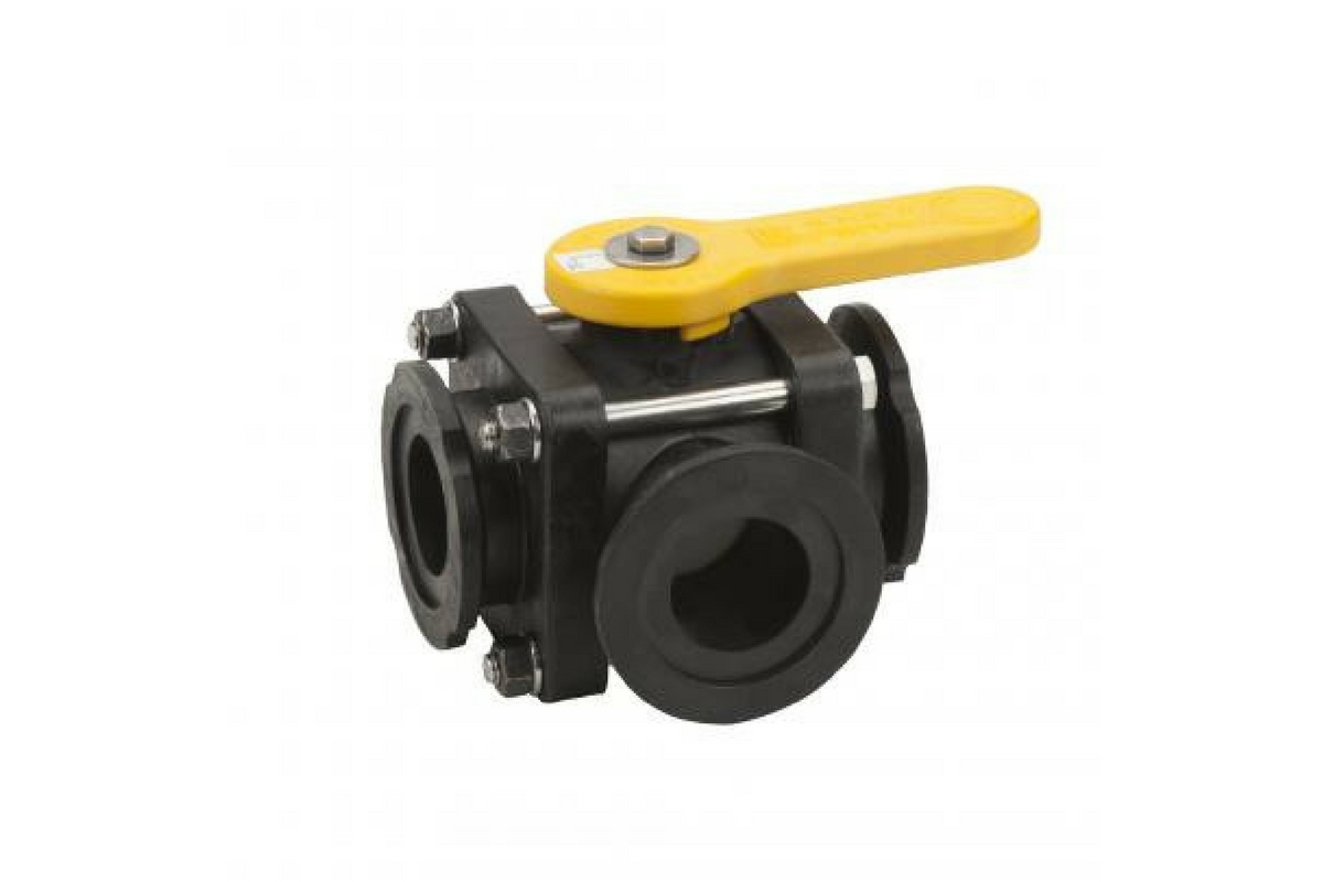 Banjo Manifold 3-Way Ball Valves - Image 2