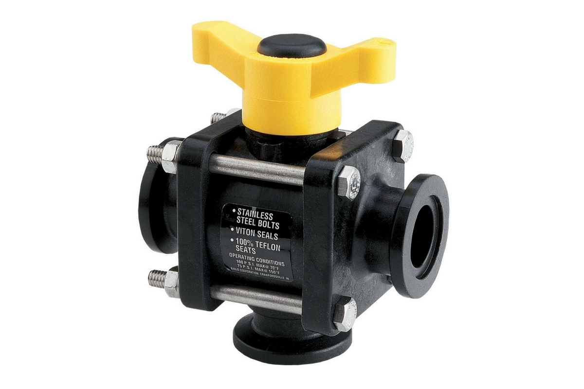 Banjo Manifold 3-Way Ball Valves - Image 4