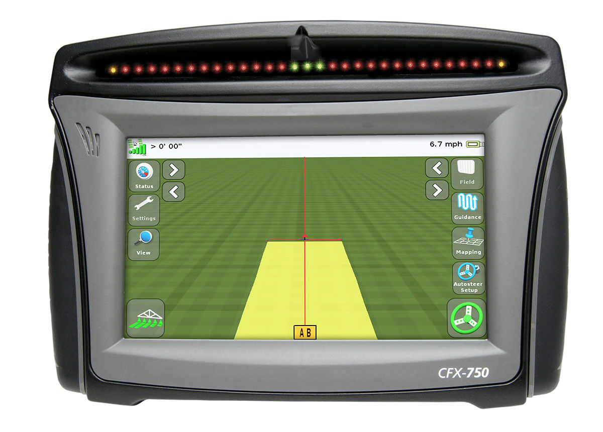 Trimble CFX 750 Display