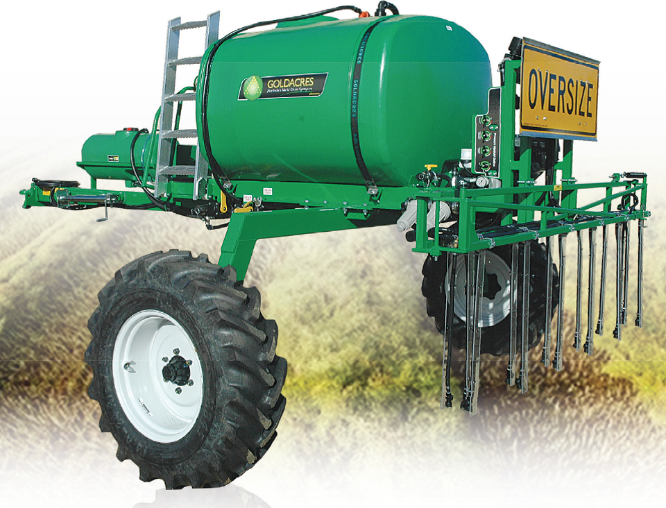 GoldAcres Windrow Sprayer Series