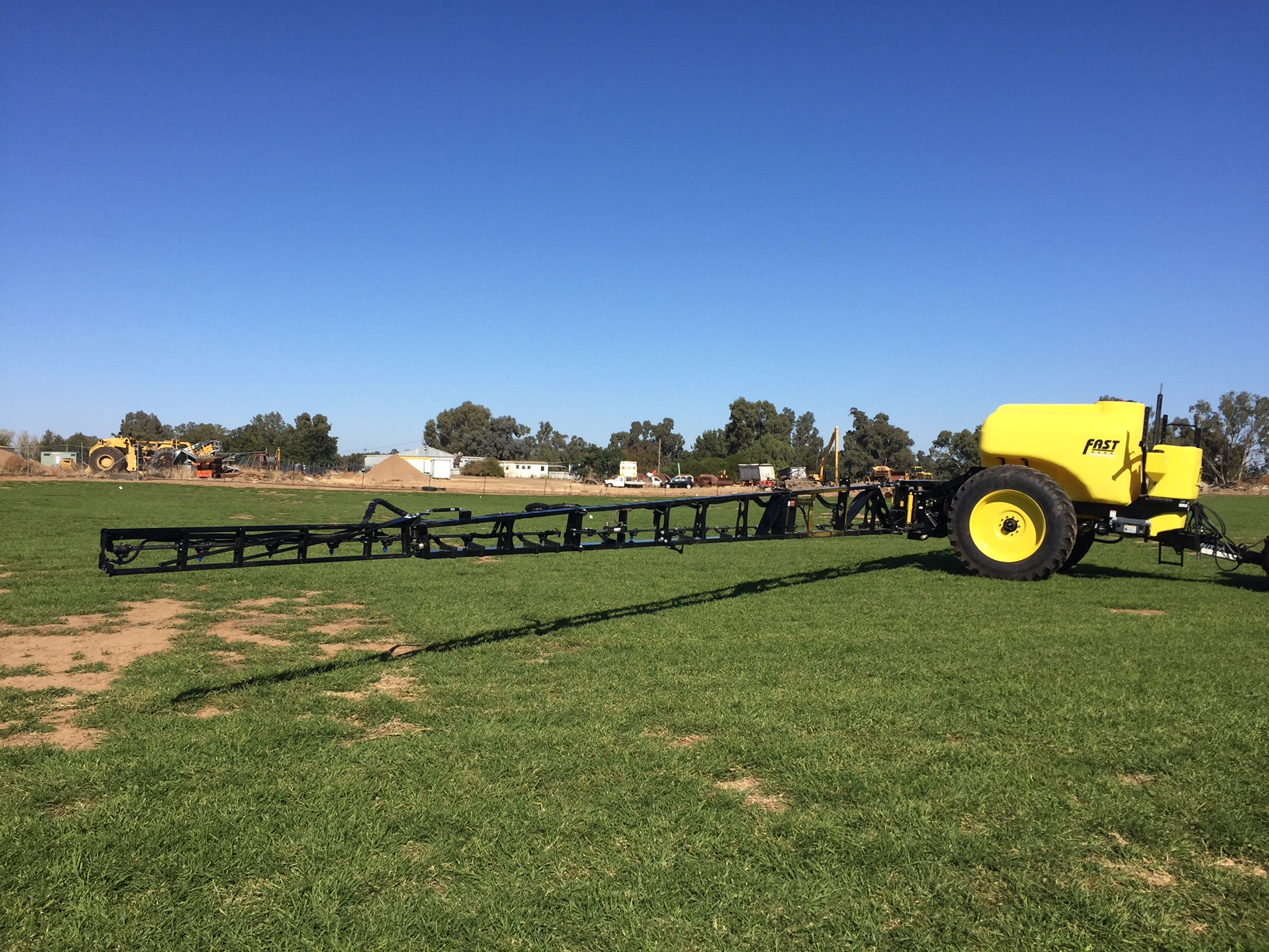 New Fast 5100 litre, 30 Metre boom